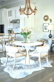 Rug Size For Dining Table Room Carpet Under On