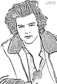 Harry For Styles Coloring Pages
