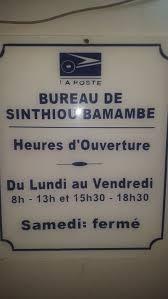 bureau de poste ouvert samedi bureau de poste de sinthiou bamambe matam region senegal phone