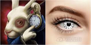 Halloween Contacts Without Prescription by Alice In Wonderland Mad Hatter Contact Lenses For Halloween Costume