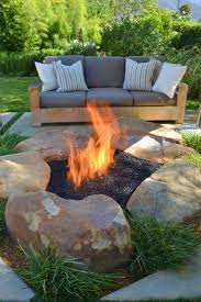 39 Best Home Style- Outdoors Images On Pinterest | Gardening ... Fire Pits Is It Safe For My Yard Savon Pavers Best 25 Adirondack Chairs Ideas On Pinterest Chair Designing A Patio Around Pit Diy Gas Fire Pit In Front Of Waterfall Both Passing Through Porchswing 12 Steps With Pictures 66 And Outdoor Fireplace Ideas Network Blog Made How To Make Backyard Hgtv Natural Gas Party Bonfire Narrow Pool Hot Tub Firepit Great Small Spaces In