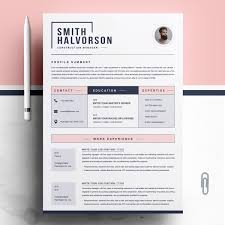 Modern Resume Template For Word 13 Page Resume CV Etsy