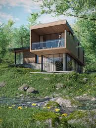 100 River Side House ArtStation Side Helmy Ardiansyah