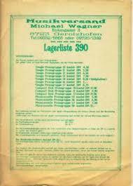 details zu alter katalog 80er j musikversand michael wagner gerolzhofen schallplatten cds