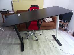 bureau assis debout ikea achat d un bureau assis debout bekant chez ikea de tournus