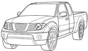 Cars And Trucks Coloring Pages Car Truck Tow Of Luxury Ideas Free Printable