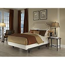 amazon com knickerbocker embrace bed frame in black king size