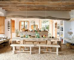 Rustic Dining Room Lighting Ideas by Rustic Dining Table Diy Glass Vase For Christmas Table Decoration