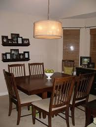 20 Drum Lights For Dining Room Chandelier Should Be 1 2 To 3 4