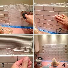 4x8 Subway Tile Trowel Size by How To Install Ceramic Wall Tile