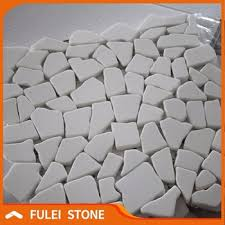 Bianco Sievc White Marble Chips Mosaic Tiles Price
