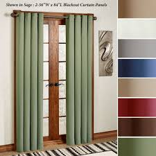 105 Inch Blackout Curtains by Grommet Curtains And Tab Top Panels Touch Of Class