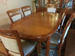 esszimmer 6 stühle tisch in kirschbaum gebraucht eur 450