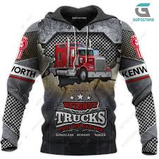 100 Pictures Of Cool Trucks KW Truck 3D All Over Printed Shirts