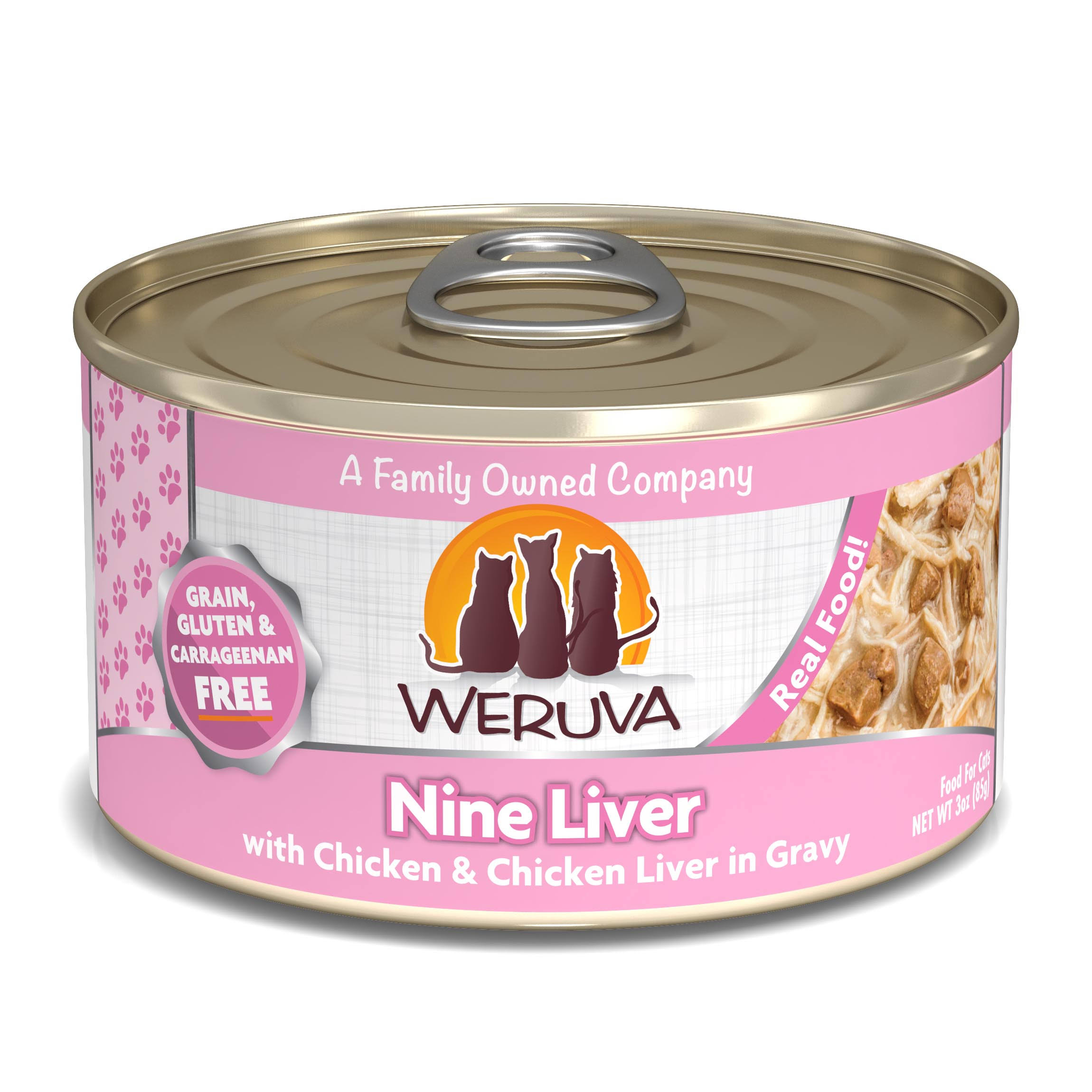 Weruva Nine Liver Canned Cat Food - Chicken & Chicken Liver