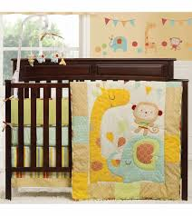 Kidsline Crib Bedding by Graco Jungle Friends 4 Piece Crib Bedding Set By Kidsline