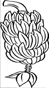 e Whole Banana Bunch Coloring Pages