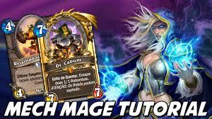 hearthstone deck list mech mage hearthstone mech mage tutorial decklist vs secret paladin