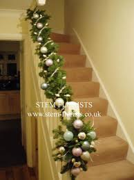 Interior : Best Christmas Garland Decorating With Holiday Garlands ... How To Hang Garland On Staircase Banisters Oh My Creative Banister Christmas Ideas Decorating Decorate 20 Best Staircases Wedding Decoration Floral Interior Do It Yourself Stairways Southern N Sassy The Stairs Uncategorized Stair Christassam Home Design Decorations Billsblessingbagsorg Trees Show Me Holiday Satsuma Designs 25 Stairs Decorations Ideas On Pinterest Your Summer Adams Unique Garland For