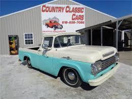 100 59 Ford Truck 19 F100 For Sale ClassicCarscom CC1070792