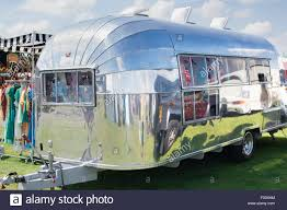 100 Airstream Vintage For Sale Caravan At A Vintage Retro Festival UK Stock