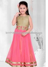 2016 New Design Kids Dress Anarkali Designs Party Wear For