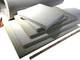 mousse de rembourrage canapé découpe de mousse en plaque pour coussin de siège