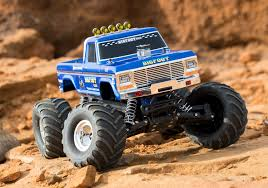 100 Bigfoot Monster Truck Toys BIGFOOT Classic 110 Scale RTR Blue Complet La
