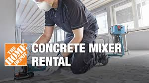 Concrete Mixer Rental - The Home Depot - YouTube