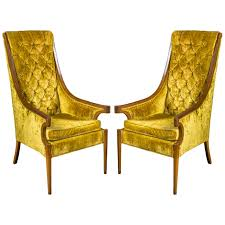 Hollywood Regency High Back Chairs Hollywood Regency Vintage Louis Xvi Style Pair Of High Back 1960s Tufted Ivory Velvet Armchair Chairs In Animal Hollywood Regency Retro 70s Highback Arm Mid Century Attributed To Adrian Pearsall For Craft A Set 2 Everything You Need To Know About Design Palma Lounge Chair Green Xk64 Advancedmasgebysara