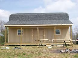 Gambrel Shed Plans 16x20 by Gambrel Barns The Shed Guy