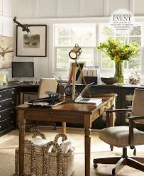 Rustic Style Home Office Farmhouse Decorating Ideas