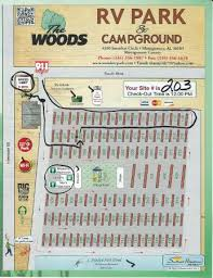 The Woods RV Park Campground