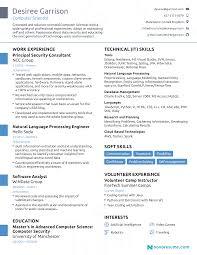 2018 Resume Examples Professional Summary Career
