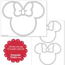 Nerdy Nummies Pumpkin Carving by Printable Minnie Mouse Pumpkin Stencils From Printabletreats Com