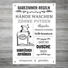 badezimmer regeln german illustration zum selbstdrucken bathroom decor bathroom print printable ink instant