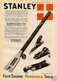stanley tools color 1925 nem most volt tools pinterest