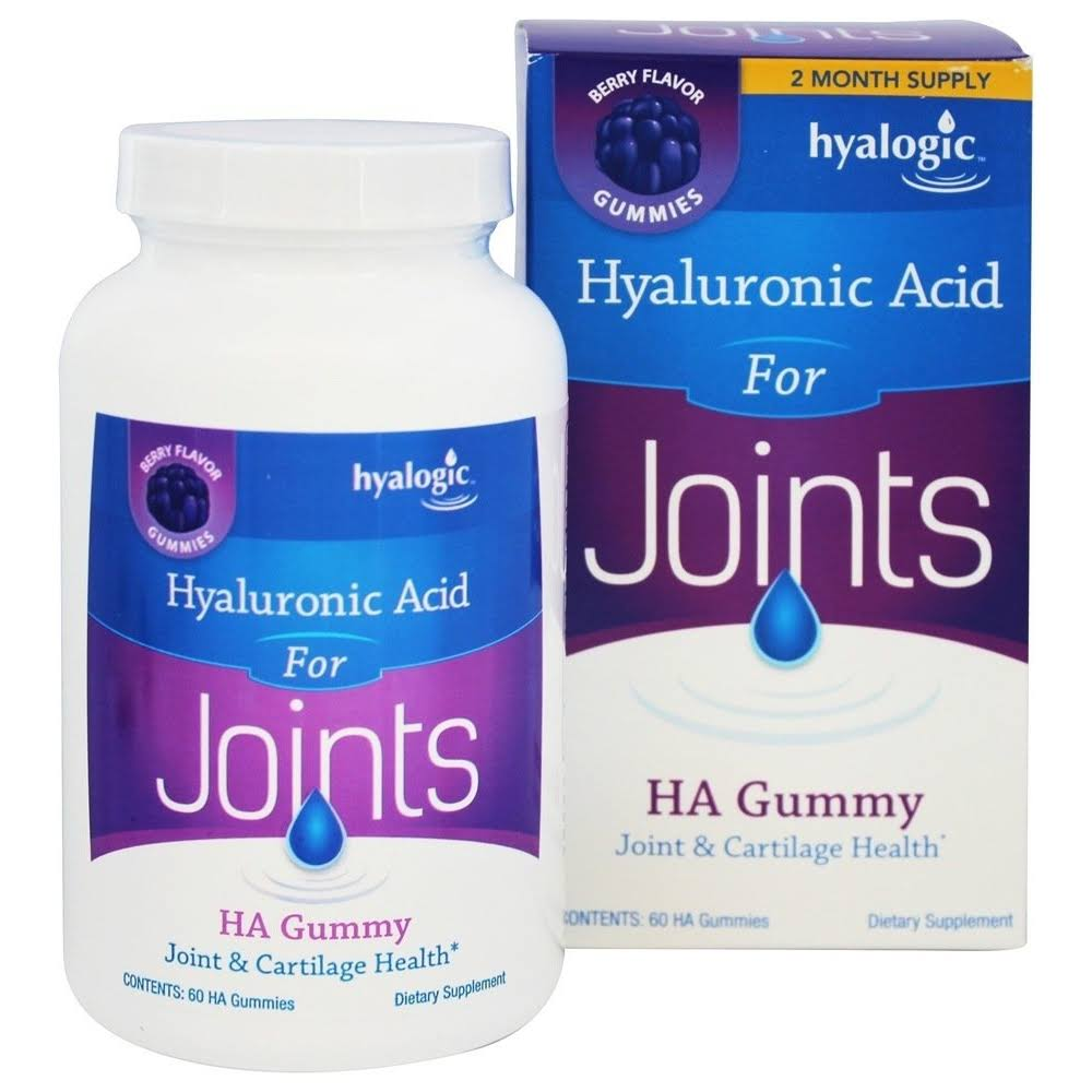 Hyalogic Hyaluronic Acid for Joints - 60 Gummies
