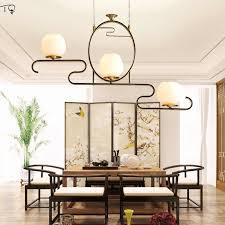 neue chinesische anhänger lichter alle kupfer zen kunst e27 led wohnzimmer traditionelle kreative orientalischen elementen teehaus esszimmer le