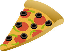 Cheese Pizza Slice Clip Art Becuo