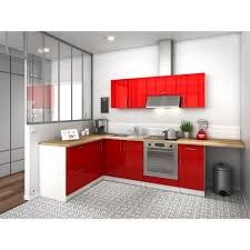 cuisine d angle city cuisine complète angle réversible l 280 cm laqué