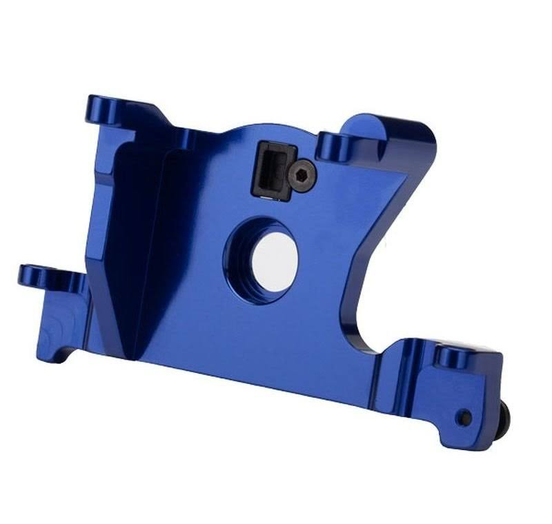 Traxxas 7460R Motor Mount - 6061-T6 Aluminum (blue-anodized)