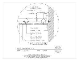 usg design studio 09 21 16 03 431 durock suspended ceiling