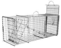 live cat trap tomahawk model 608 live trap w easy release door raccoon feral