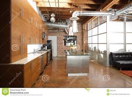 100 Modern Loft House Plans Loft Kitchen Stock Image Image Of Floor Empty 9821259