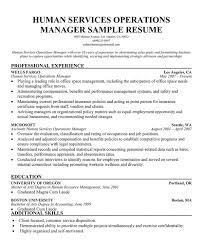 Human Service Resume Samples Images Gallery