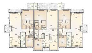 100 Triplex House Designs Plans Numberedtype 2 Story Floor Plans