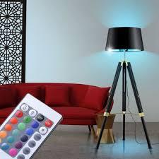 leuchten leuchtmittel rgb led steh büro wohnraum stand
