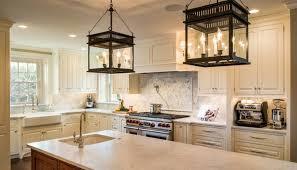 JS 2 interior lighting copper lantern kitchen and foyer light