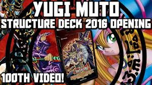 Jaden Yuki Starter Deck Simplyunlucky by Yu Gi Oh Yugi Muto Structure Deck 2016 Opening Unboxing Review My